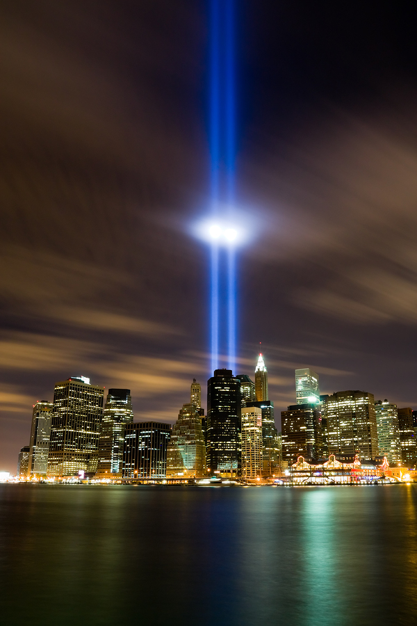 911 Light Memorial in New York City