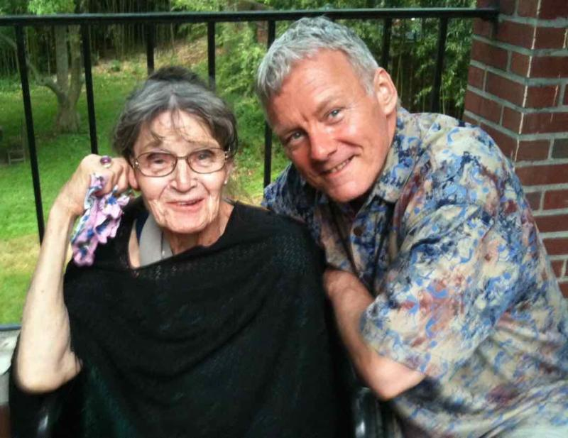 Robert Beatty and Ruth Denison