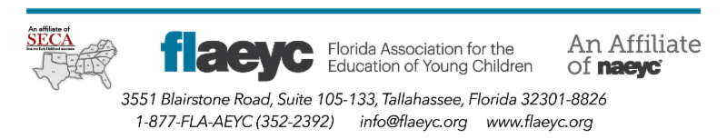 FLAEYC - An Affiliate of SECO and NAEYC