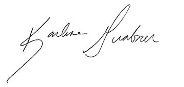 Karlene Signature