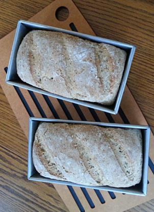 bread in pans