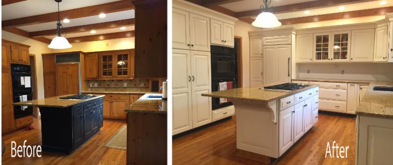 Modern Kitchen Update Done With Cabinet Refacing. Kitchen Solvers Of Madison