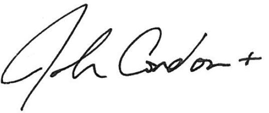 Joshua Condon signature