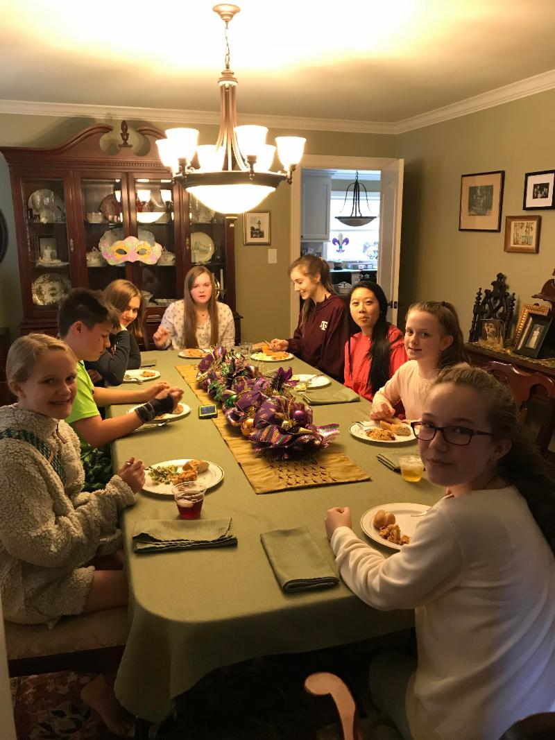 Jan 2018 Youth Epiphany Progressive Lunch