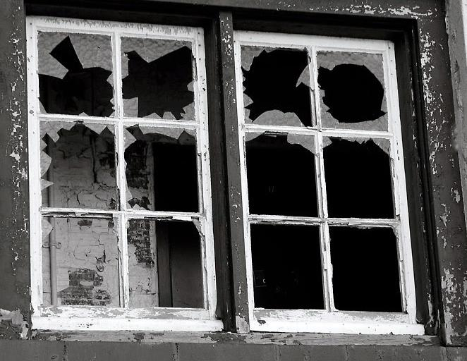 Image of broken windows