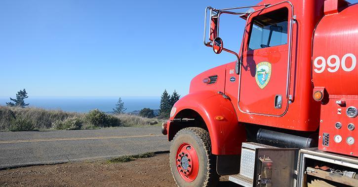 MMWD fire truck