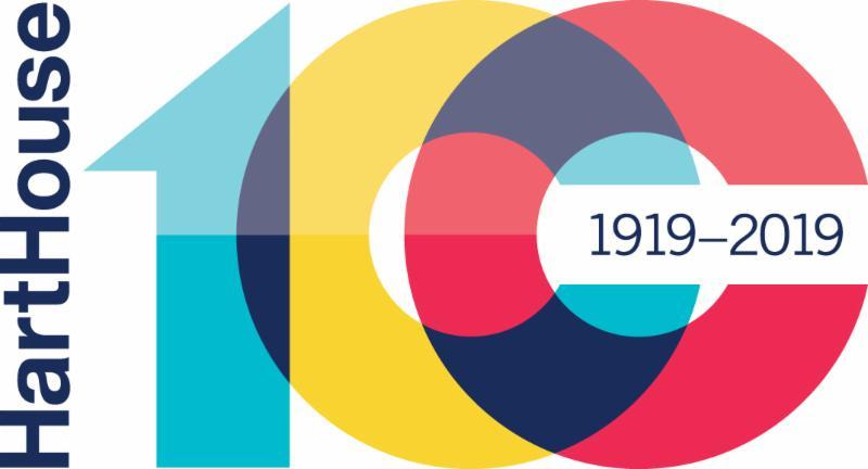 Hart House 100 logo