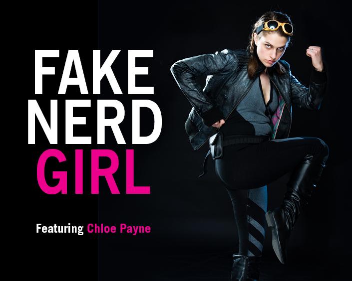 Fake Nerd Girl Flyer