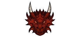 Small Dragon Head 63403