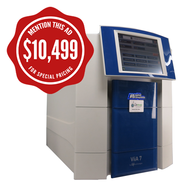 ABI Viia 7 real time PCR