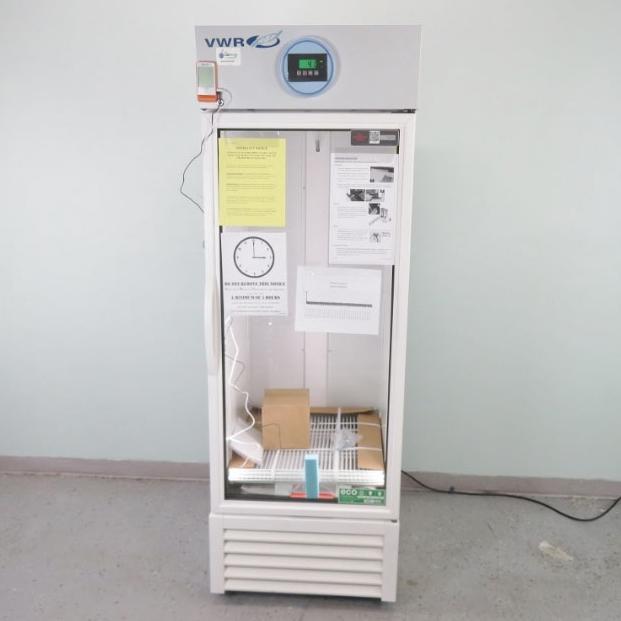 VWR Glass Door Laboratory Refrigerator