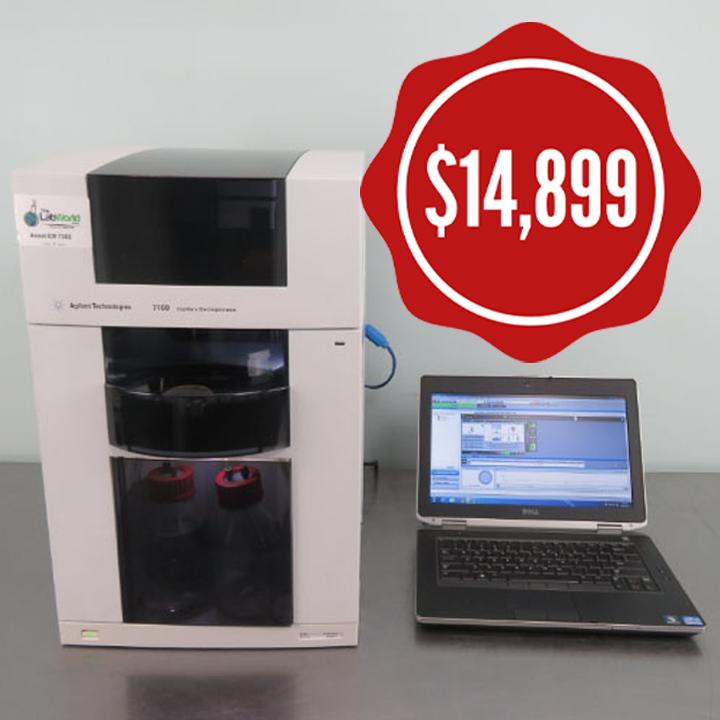 Agilent 7100 Capliary Electrophoresis instrument