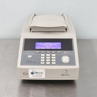ABI Geneamp 9700 PCR system