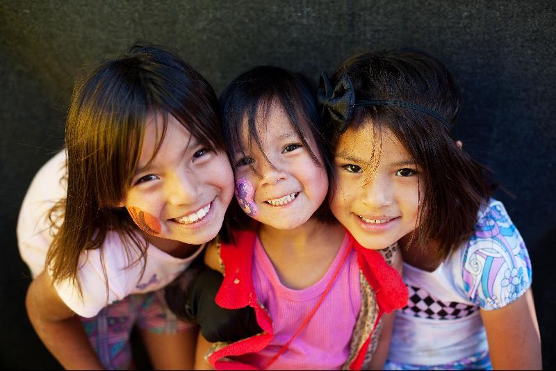Three girls