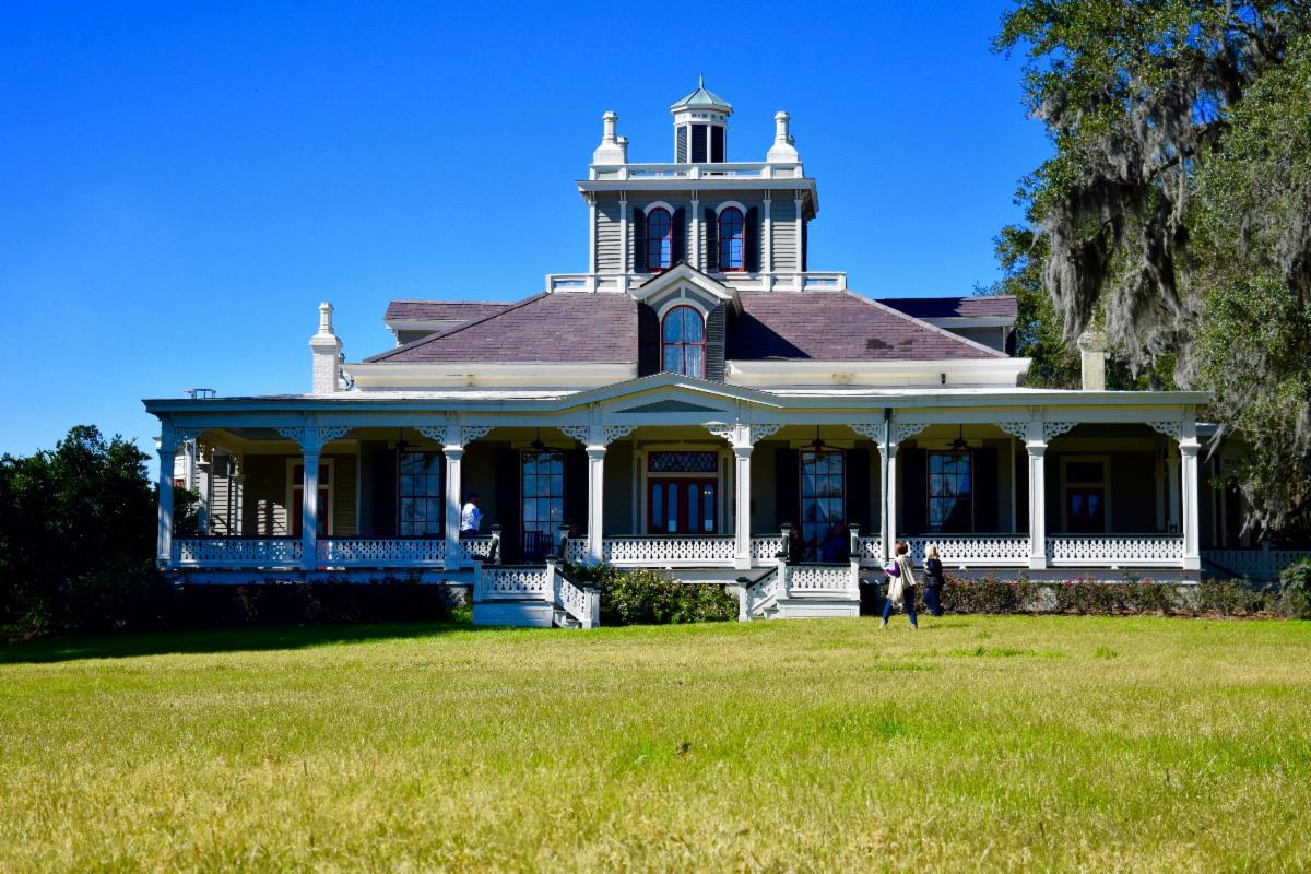 Joseph Jefferson Mansion at Jefferson Island Rip Van Winkle Gardens