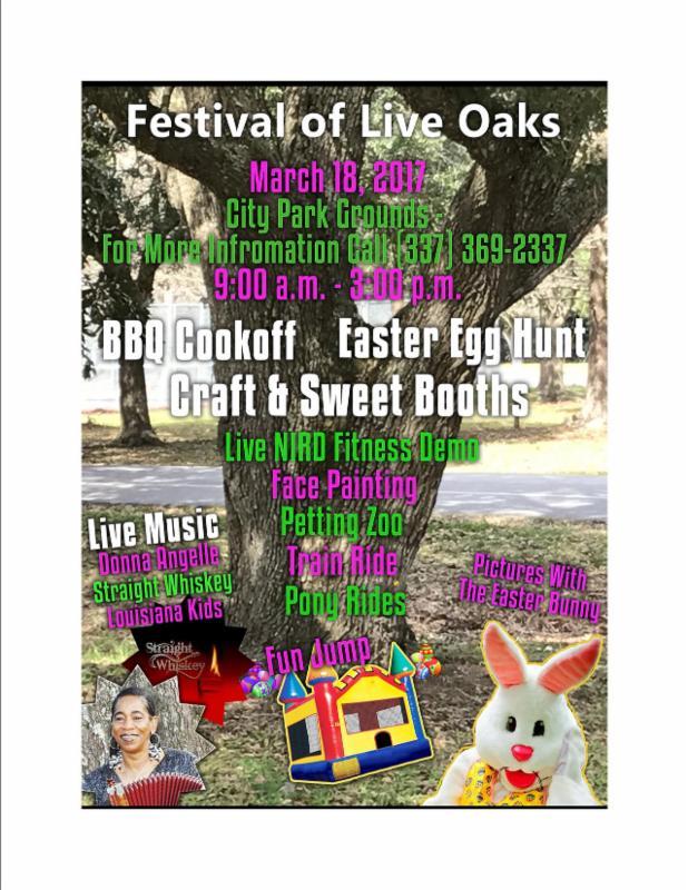 Festival of Live Oaks