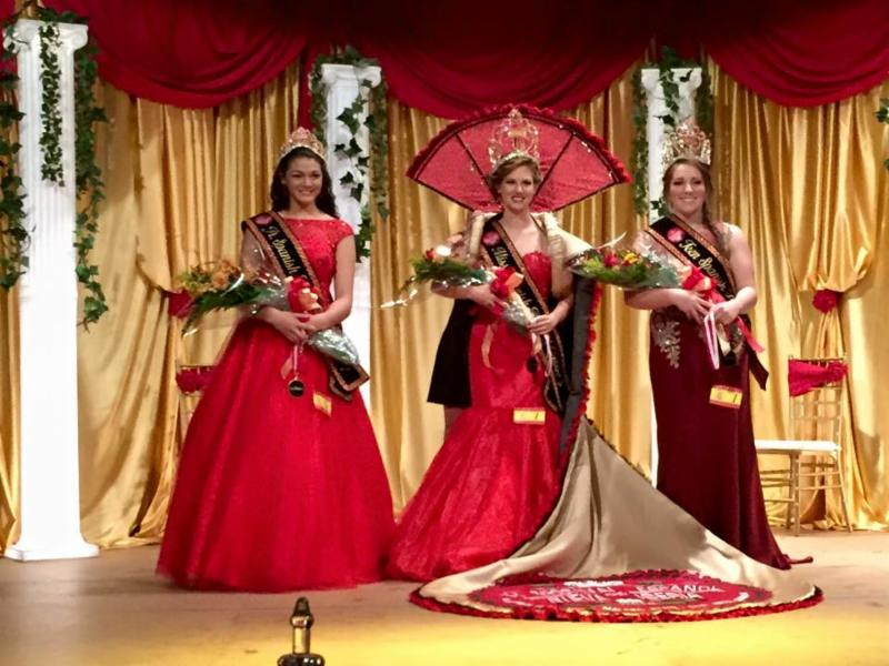 Spanish Festival 1st pageant queens
