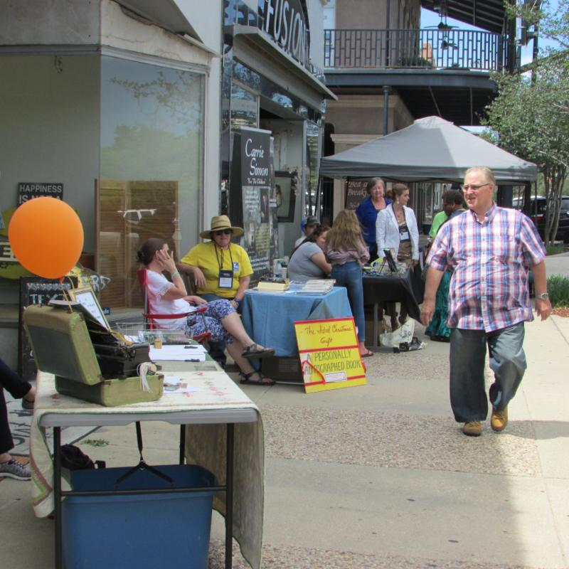 Dave Robicheaux's Hometown Literary Festival Book Fair