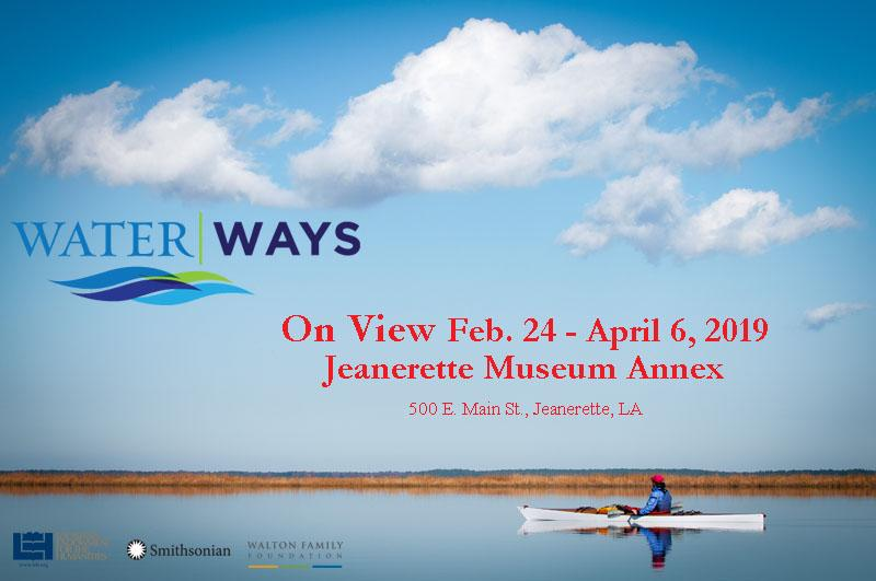 Waterways exhibit Jeanerette museum