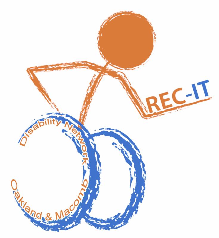 Dnom's rec it logo