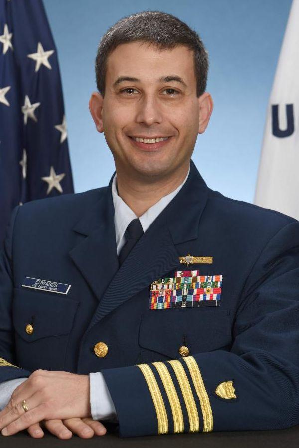 Captain Matt Edwards US Coast Guard