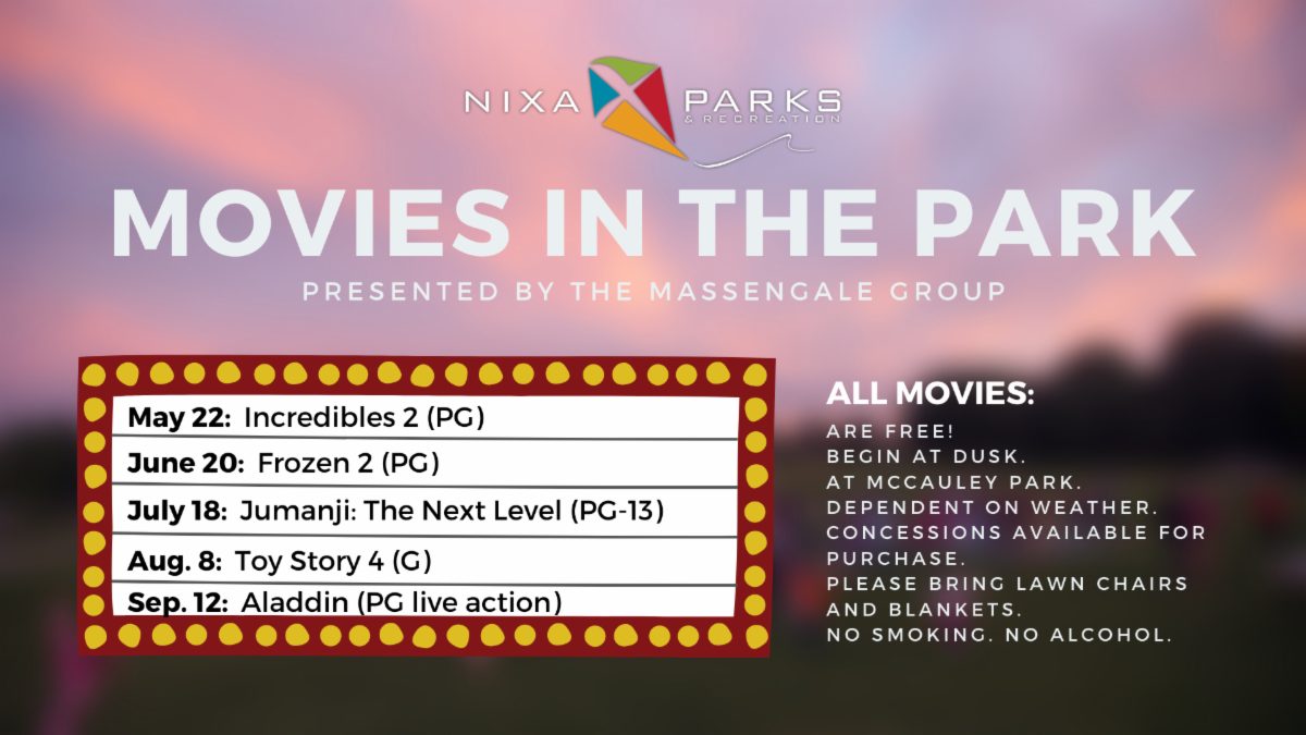 Movies in the Park 2020