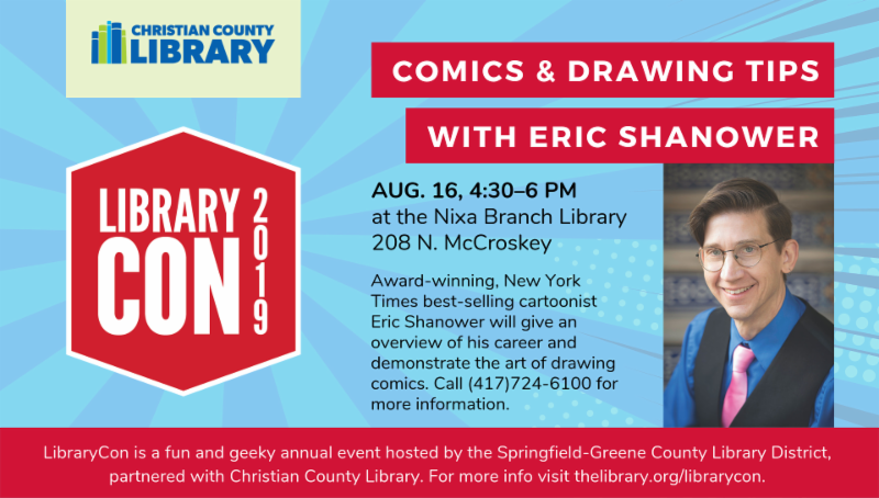 Library - Eric Shanower event