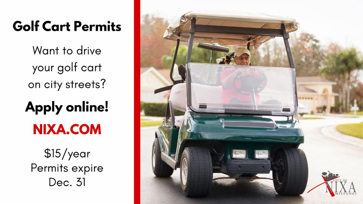 Golf Cart Permits