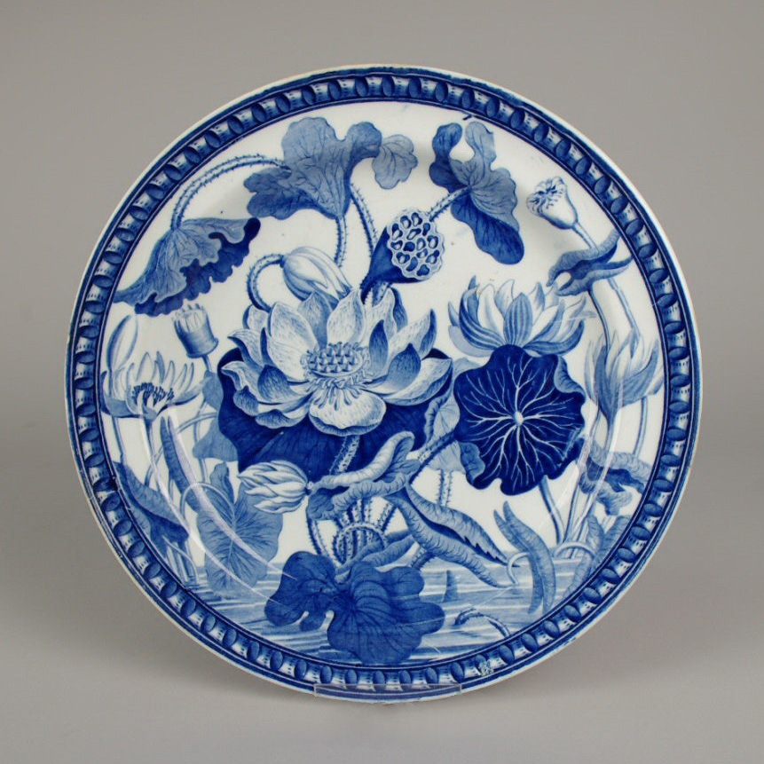 image: Water Lily pattern c. 1820, Wedgwood
