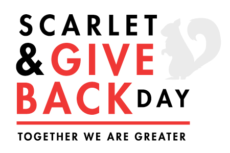 Scarlet and Give Back day graphic