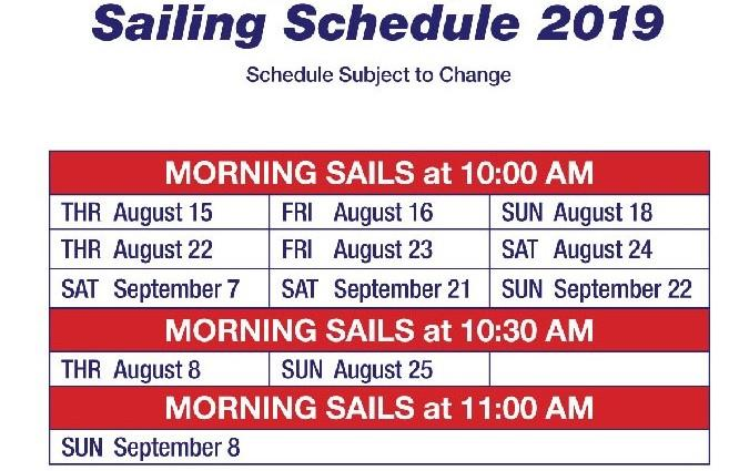 CM Morning sails