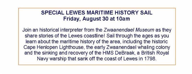 Lewes History sail