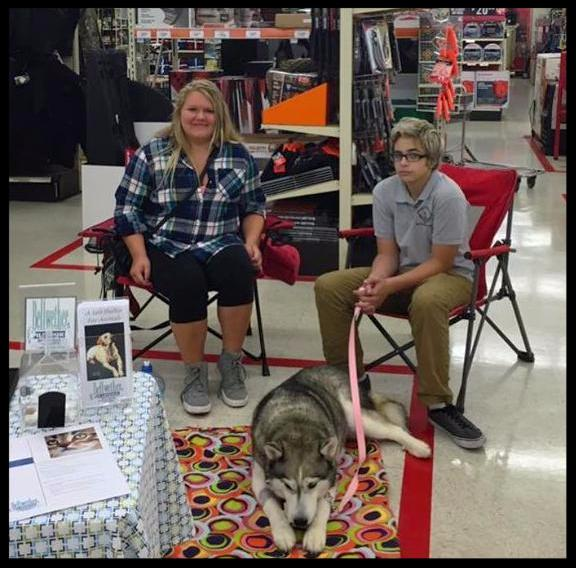 Come and visit Elviria, and two of our great volunteers Sam and Alexis at Tractor Supply for their Pet Appreciation week. We will be here until 1, Elviria would love to meet you.