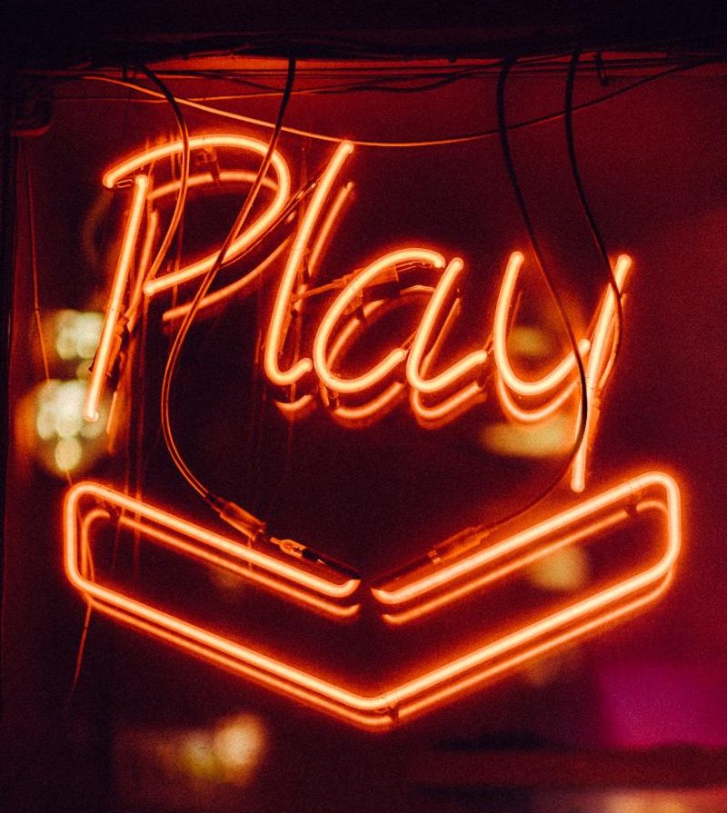 Play neon sign