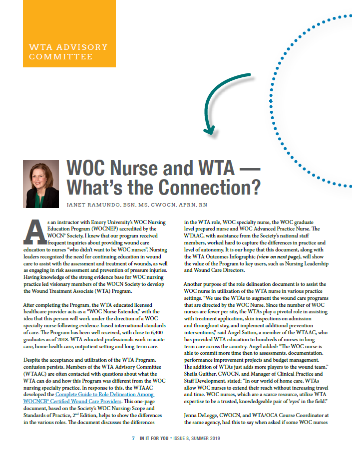 Page 7 - WOC nurse and WTA - What is the Connection