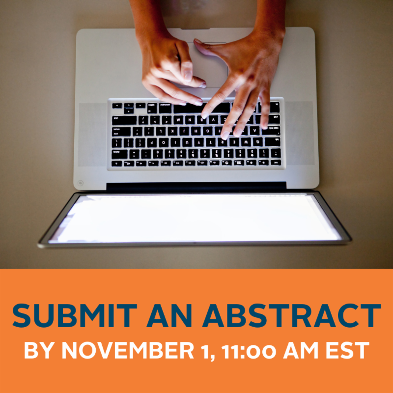 Submit an abstract by November 1