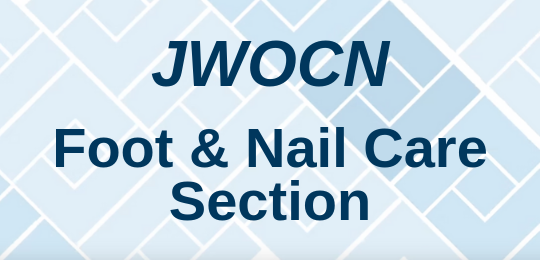 Check out the NEW JWOCN foot and nail care section.