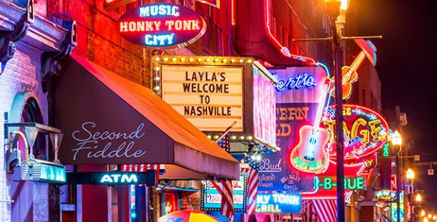 Check out Nashville nightlife