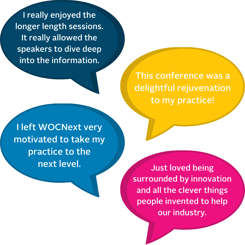Here's what your peers are saying about WOCNext