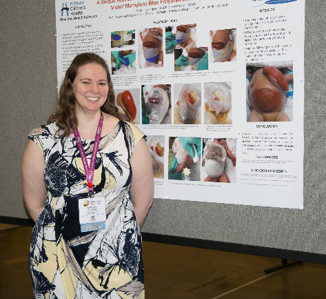Stephanie Furtado award winning poster on Unique Approach to Neonatal Wound Care