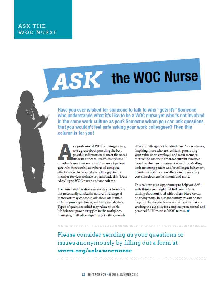 Page 12 - Ask the WOC Nurse