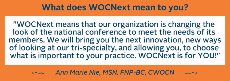 Ann Marie Nie on What WOCNext Means to Her'