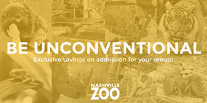 Exclusive savings for the Nashville Zoo