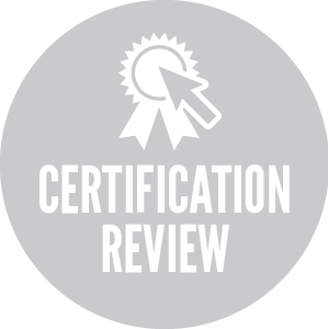 Certification review image