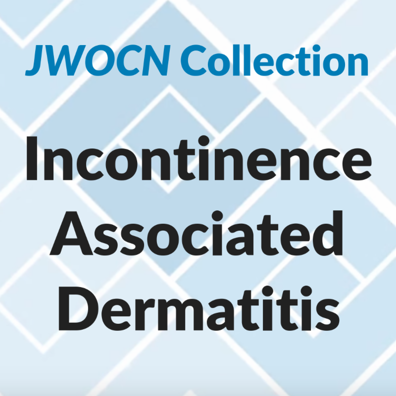 Incontinence Associated Dermatitis collection from JWOCN
