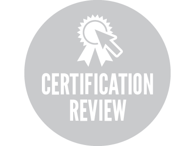 View all Certification Review courses