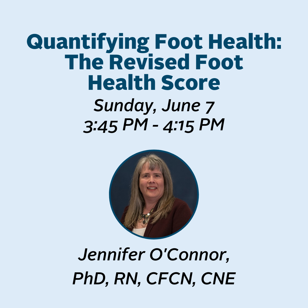 Click to view the session Quantifying Foot Health