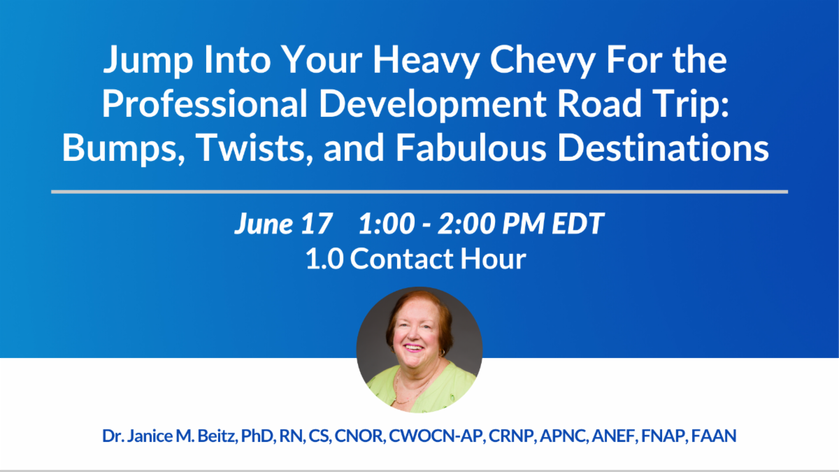 Jump Into Your Heavy Chevy For the Professional Development Road Trip: Bumps, Twists, and Fabulous Destinations