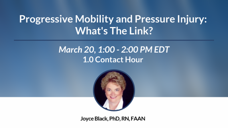 Progressive Mobility and Pressure Injury-What's The Link