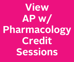 View AP with pharmacology credit sessions